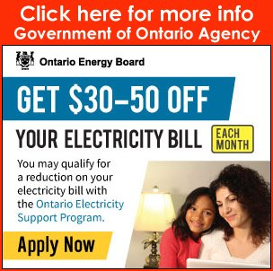Electricity bill rebates